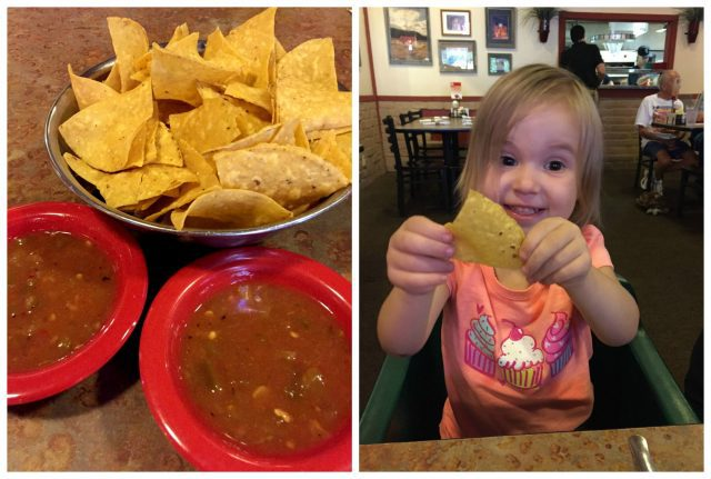 La Salita chips and salsa
