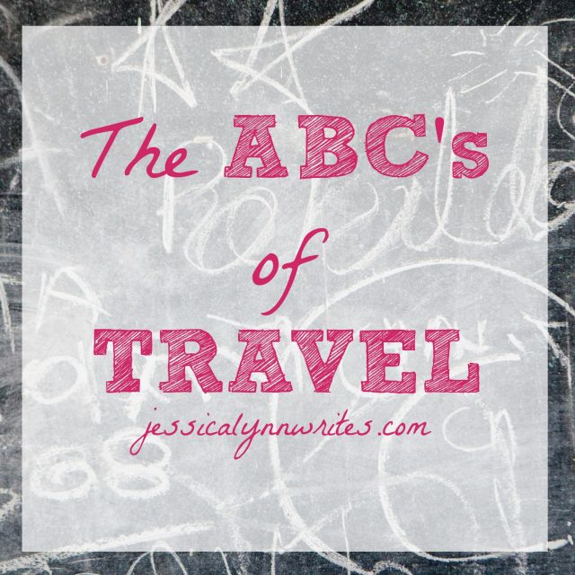 A fun blog survey all about travel!
