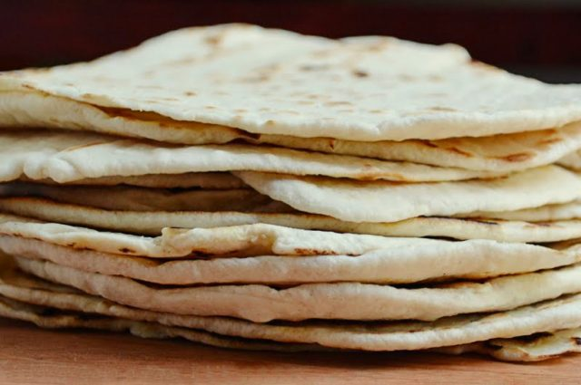 homemade flour tortillas 3