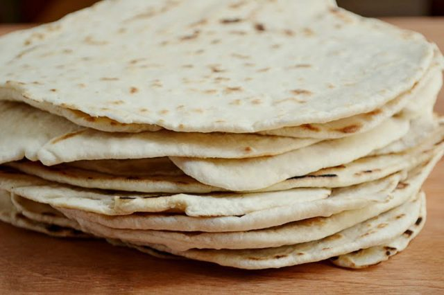 homemade flour tortillas2